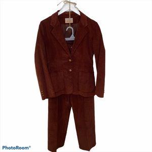 Vintage Levis Brown corduroy suit 70s 1970s